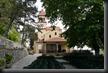 P1500333 Kirche direkt an unserem C.platz mit 2x-liger Übertragung pro Tag per Mikro der Gottesdienste